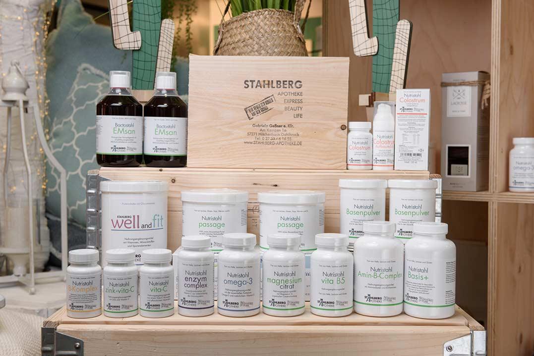 Stahlberg-Apotheke produkte